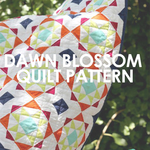 Dawn Blossom Quilt Pattern