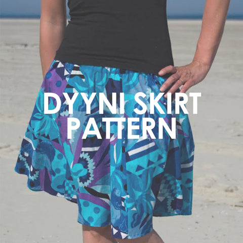 Dyyni Ladies Skirt Pattern