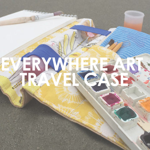 Everywhere Art Travel Watercolor Case