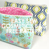 Easy Sew Cosmetics Bag