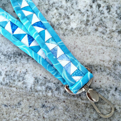 Quilted Lanyard