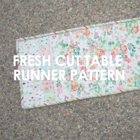 Fresh Cut Table Runner pattern