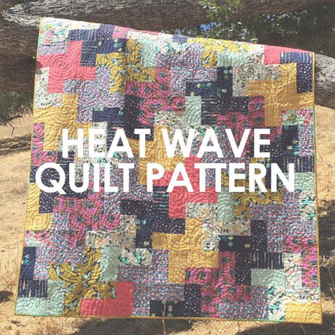 Heat Wave Quilt Pattern