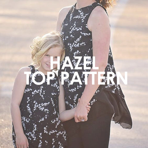 Hazel Top Pattern