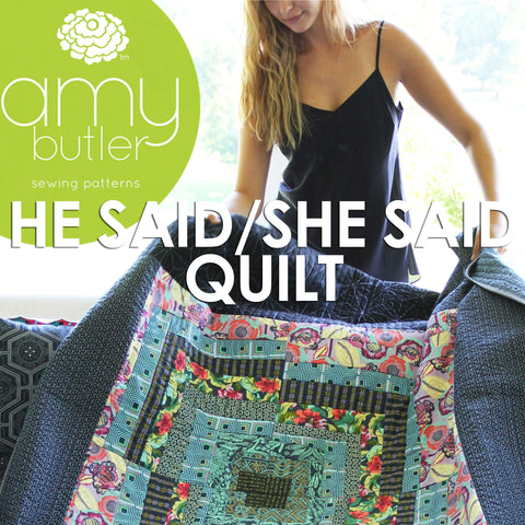 He Said / She Said Quilt Pattern
