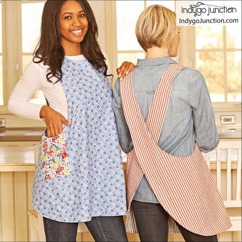 Crossback Reversible Adult and Child Apron