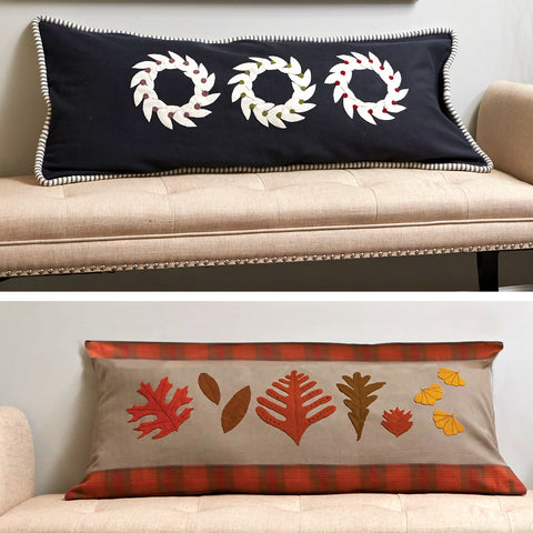 Fall and Winter Pillow Set Pattern