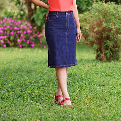 Danube Jean Denim Skirt