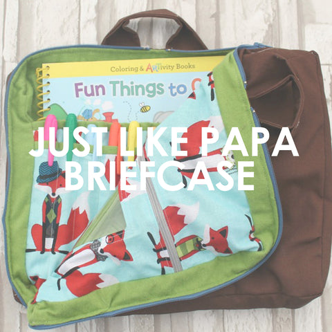 Just Like Papa Briefcase