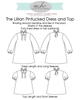 Lillian Pintucked Dress and Top