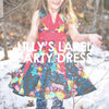 Lilly's Lapel Party Dress