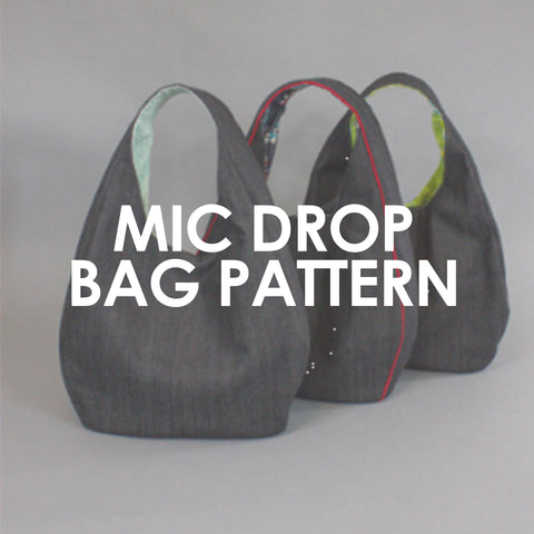 Mic Drop Tote Pattern