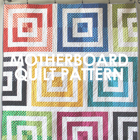 Motherboard Quilt Pattern