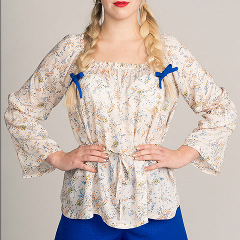 Marie Gathered Blouse