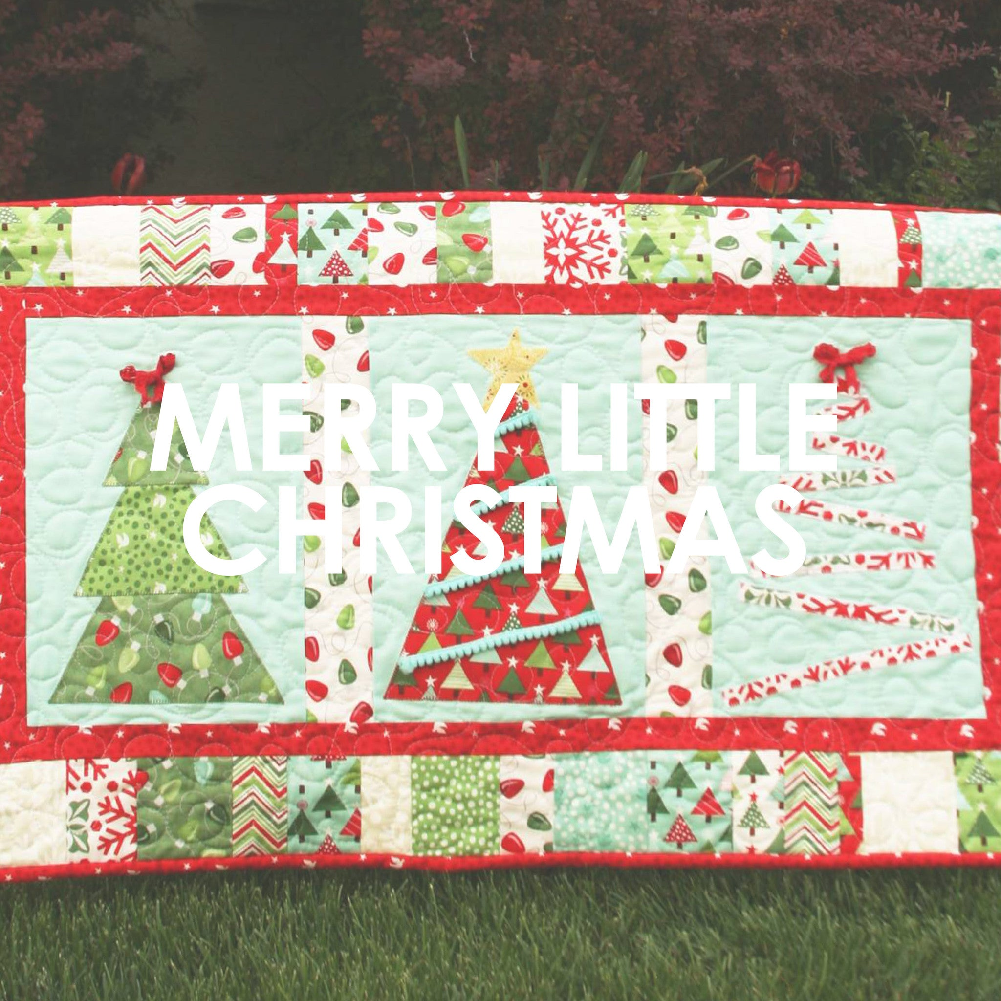 Christmas Table Runners.Merry Little Christmas Table Runner Upcraft Club