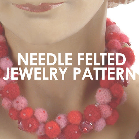 Needle Felted Jewelry