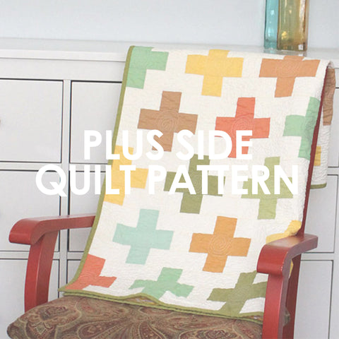 Plus Side Quilt Pattern