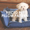 Pieced Pet Pillows
