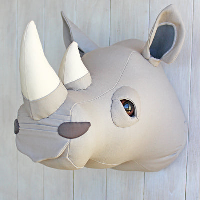 Rhinoceros Wall Decor