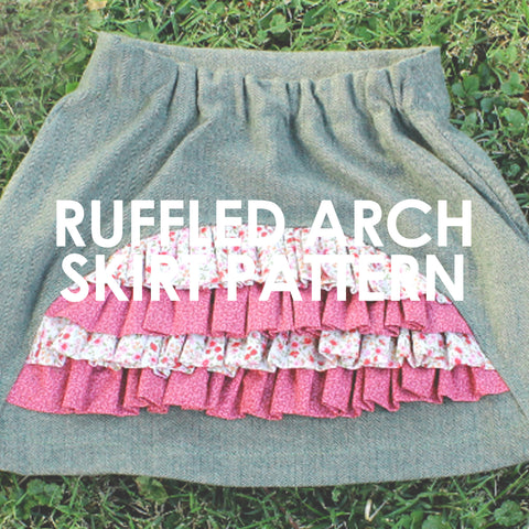 Ruffled Arch Skirt
