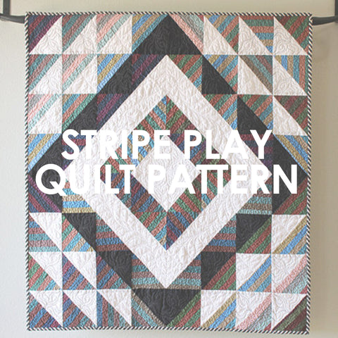 Stripe Play Quilt Pattern