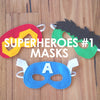 Superheroes #1 Masks