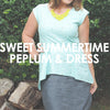 Sweet Summertime Peplum & Dress