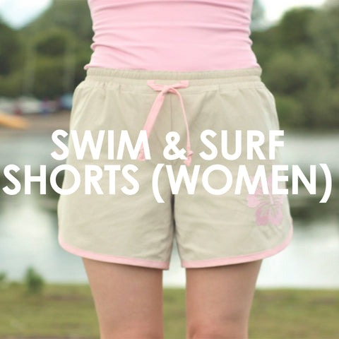 Swim & Surf Shorts (Women)