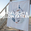 Shoal Quilt and Pillow