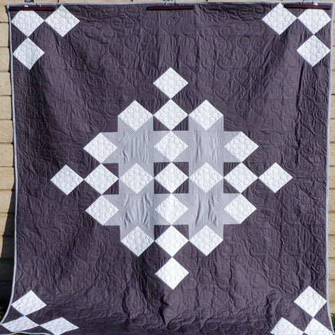 Snowflake Shimmer Quilt Pattern