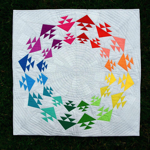 Taste the Rainbow Quilt Pattern