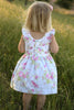 Vintage Grace Flutter Dress
