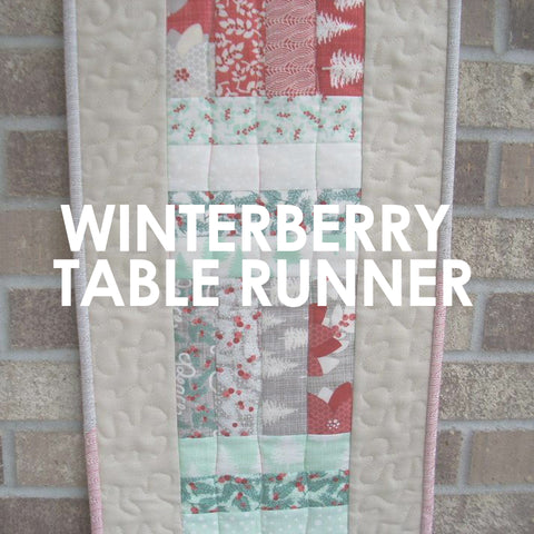 Winterberry Table Runner pattern