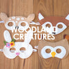 Woodland Creatures Masks