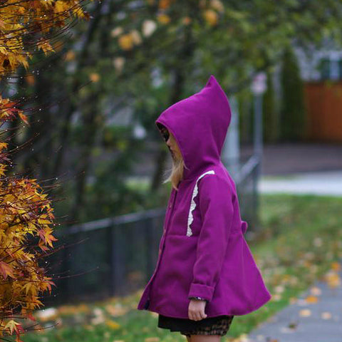 Candy Coated Pixie Hood Coat