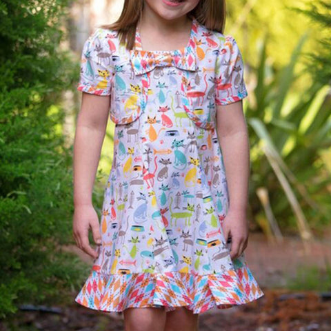 Carousel Sundress & Topper
