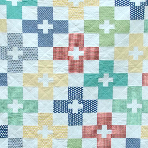 Check Plus Quilt Pattern