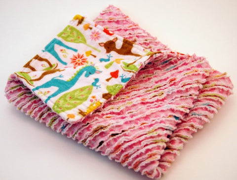 Chenille Burp Cloth