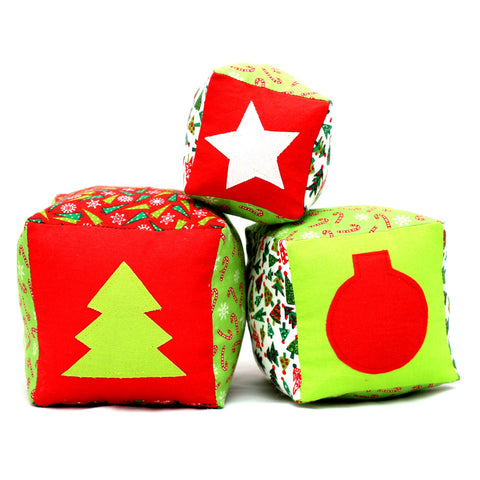 Christmas Baby Blocks