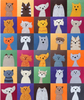 Cuddly Cats Quilt Pattern