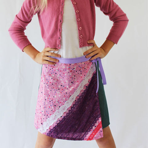 Ruby Girl's Wrap Skirt