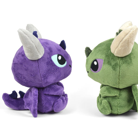 Dragon Plush Toy (Sitting)