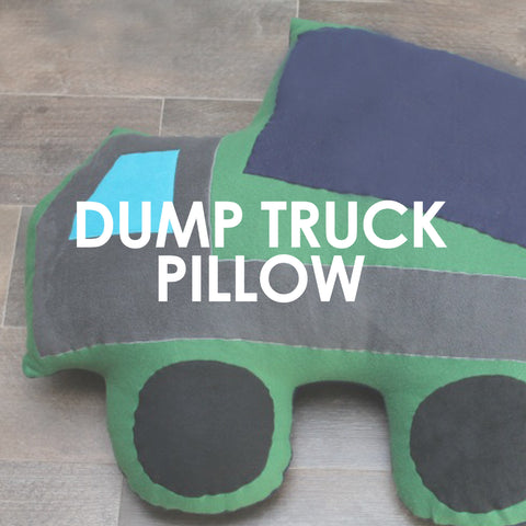 Mega Dump Truck Pillow