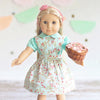 Elizabeth Dolly Pinafore and Eden Blouse