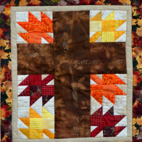 Give Thanks and Praise Thanksgiving Quilt Pattern