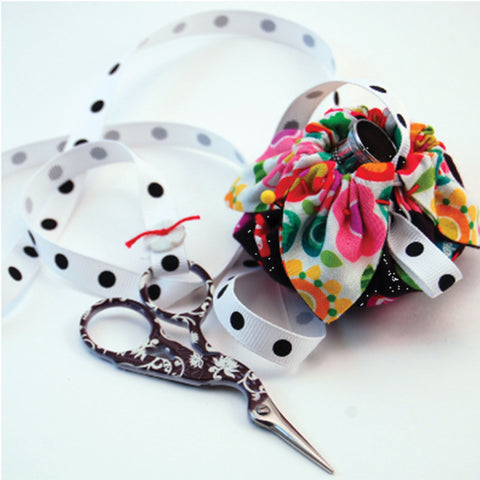 Flower Bud Pincushion & Scissor Fob Pattern