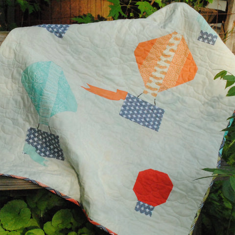 Head in the Clouds Baby Quilt Pattern