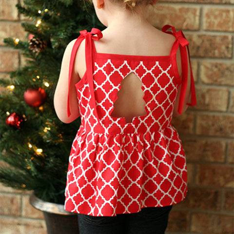 Holiday Cutout Dress & Top