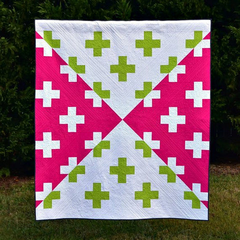 Isosceles Addition Quilt Pattern