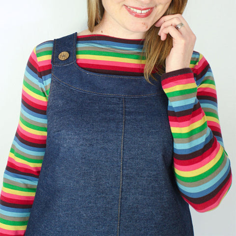 The Ivy Pinafore Overall Dress